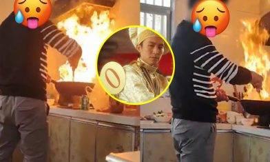 【女婿Overcooked!】想喺岳父母面前大顯廚藝!女婿表演火燒廚房