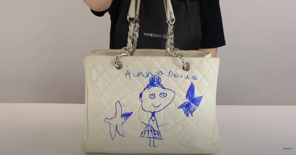 5歲女幫媽媽絕版Chanel袋DIY 媽媽發現後大崩潰