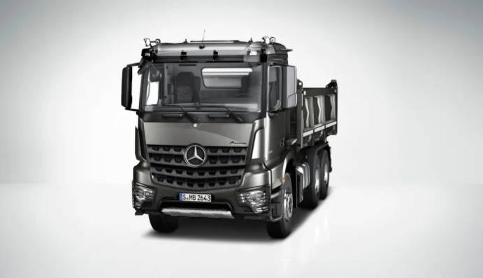 Mercedes-Benz推出新型貨車Arocs