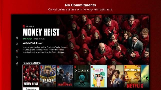 【Netflix】用家未來需要用自己的帳號以繼續觀看影片。