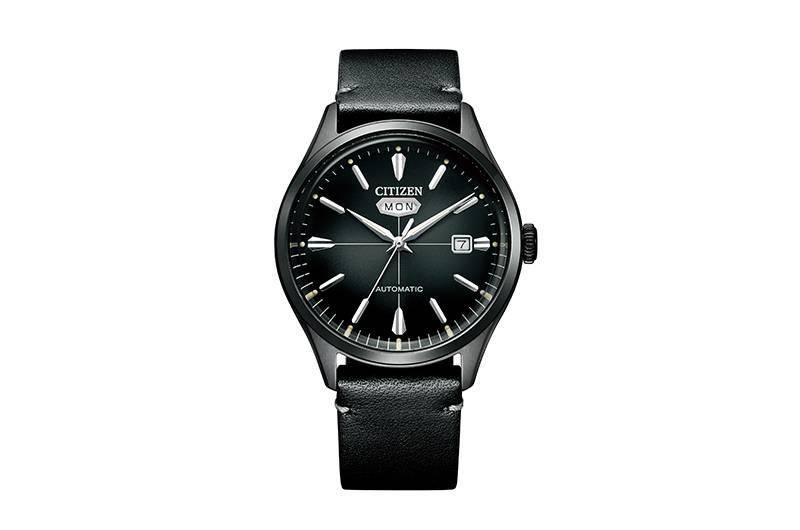 仲有呢隻以灰色錶盤配黑色小牛皮錶帶嘅NH8395-00E,都係Active(動感活力)系列,襯smart casual造型最啱。NH8395-00E HK$ 2,280