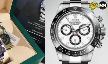 Rolex疑似2021年出全新Daytona 傳勞力士玩藍色陶瓷錶圈Daytona