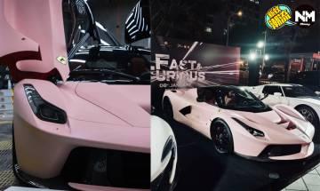 法拉利Ferrari傻豹配色跑車 定價足以買一層樓