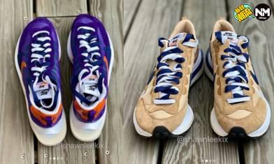 Sacai X Nike VaporWaffle聯乘波鞋系列 2021春夏新作發售日期確定?