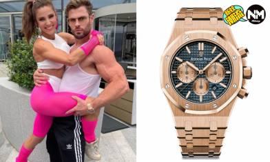 雷神Chris Hemsworth參加生日Party 手上AP金錶意外成焦點