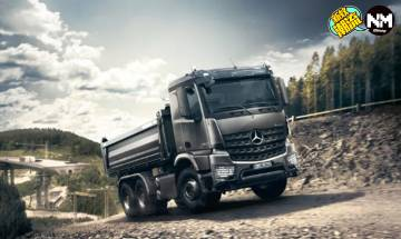 Mercedes-Benz推出新型貨車Arocs 炭灰配色型到爆!