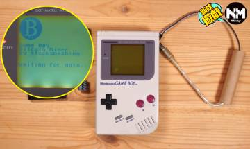 GameBoy變成挖礦機? 外國神人改造4顆電池就挖得!