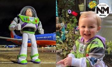 2歲男童飛機上遺巴斯光年公仔!美國航空公司千里物歸原主:附巴斯「任務照片」、「親筆信」