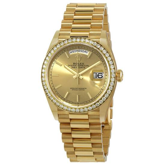 Day-Date,佢可能要50萬-60萬一隻,會蝕嘅錢可能會多啲,因為呢類錶於二手市場唔係咁高價值