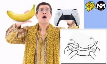 Sony申請「 香蕉 」專利 香蕉等物品變控制器可雙持
