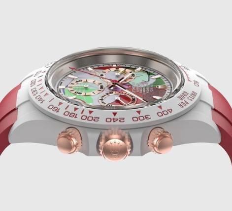 獲得Picasso Group官方授權可將呢幅名畫複製放入手錶上(圖片來源:IG@crmjewelers)