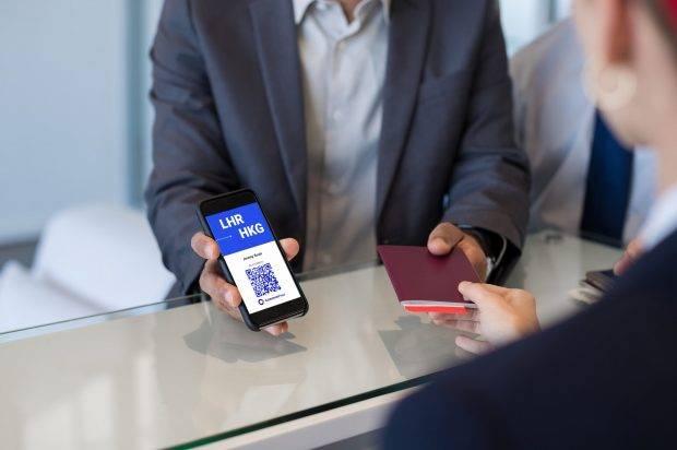 【疫苗護照】「疫苗護照」將全面啟用附教學 5.登機時將確認測試結果給機場人員檢查。
