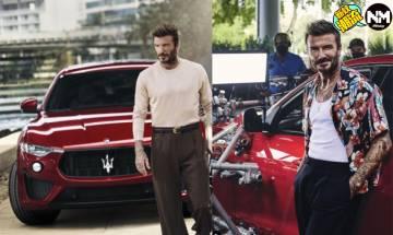 碧咸David Beckham成為Maserati新代言人 廣告片大玩飄移