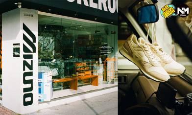 MIZUNO SPORTSTYLE期間限定店 多款限定產品發售 同場備有最新波鞋款式