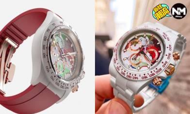 Rolex白陶瓷Daytona融入畢卡索名畫 今次客製改裝收費幾多?