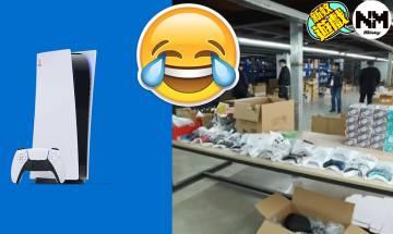 中國海關破獲走私PS5等遊戲主機 中國網民崩潰:「管別的事情可以嗎」