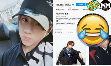 【Instagram】姜濤IG粉絲數居然百甲不入 香港男藝人IG粉絲數排行榜