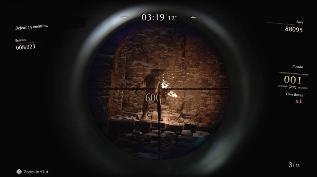 【生化危機8】《生化危機8》傭兵模式回歸。