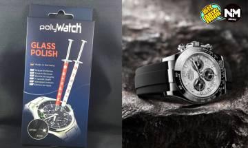 Rolex、Tudor錶友福音 手錶輕微裂痕拯救方法 一枝Polywatch搞得掂!