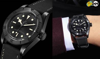 TUDOR 2021年突發暗黑新作 BLACK BAY CERAMIC黑色陶瓷錶