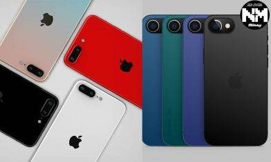 iPhone SE Plus 顏色7色機身曝光!去除整個瀏海轉挖孔式設計 Touch ID將重新回歸!
