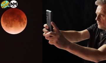 【超級血月】影相打卡技巧教學 超級血月+月全食今晚現身