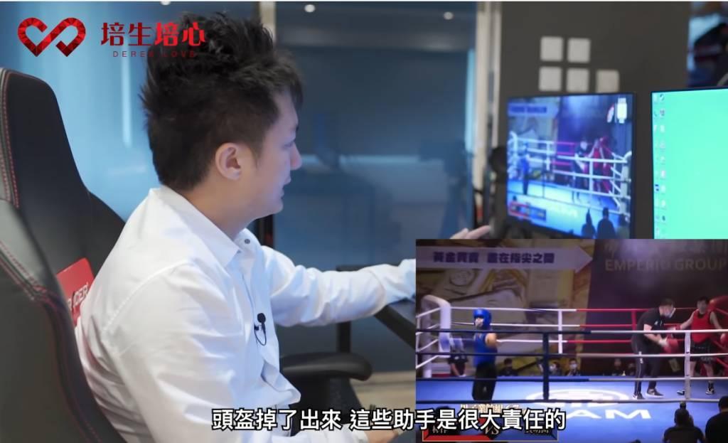 鍾培生拍片點評林作首次拳賽 稱:「場上我一定Knock out佢」