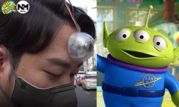 【第三隻眼】韓國研發智能「第三隻眼」 目的居然係諷刺低頭族