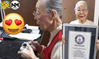 【YouTuber】全球最年長YouTuber 91歲婆婆打足40年機 最鐘意遊戲居然係