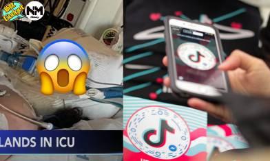 【Tiktok】家長惡夢 跟Tiktok挑戰13歲女童命危 亂跟網紅風隨時出事 Tiktok用戶盲跟結果搞到咁