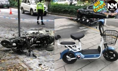 【電動單車】半日籌200萬人民幣 電動單車爆炸父女慘變火球