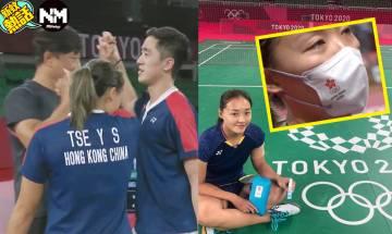 東京奧運|「鄧謝配」爭牌為報答恩師 教練:只望你們開心快樂