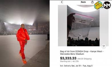 Kanye West歌迷天價售試聽會現場「空氣」今次真係Air Yeezy