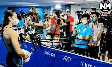 東京奧運 方力申爆採訪艱辛賽前賽後做足功課再次爆Seed提出針對性問題 大讚Siobhan:你係圓咗我哋香港游泳運動員嘅夢