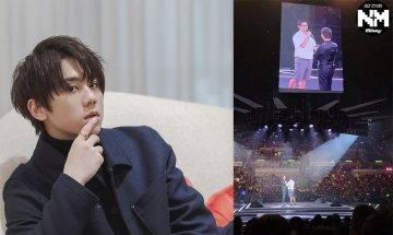 黎明演唱會正式開鑼 林海峰任首場嘉賓合唱《夏日傾情》+《蒙著嘴說愛你》 姜濤上載現場片段留言:謝謝