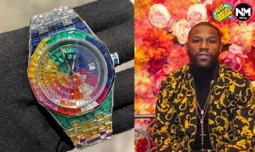 不敗拳王Floyd Mayweather專屬手錶 AP改裝彩虹圈 改裝價錢有幾誇張?