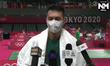 東京奧運|伍家朗小組賽止步未能晉身16強 比賽中途球衣濕如地布 網民狠批:球衣唔合身、唔索汗、勁黐身!