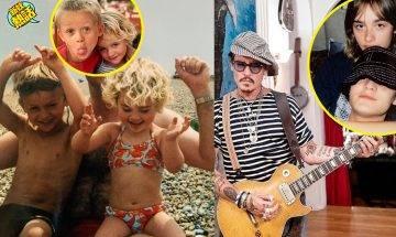 神還原爸爸年青模樣引女生暴動!Johnny Depp超高顏值19歲兒子曝光