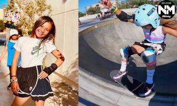 東京奧運|少女Sky Brown靠YouTube自學滑板曾失手致頭顱骨骨裂 年僅13歲代表英國出戰!
