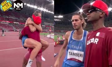 東京奧運 跳高罕有出現雙冠軍 全因卡塔爾選手問一條問題