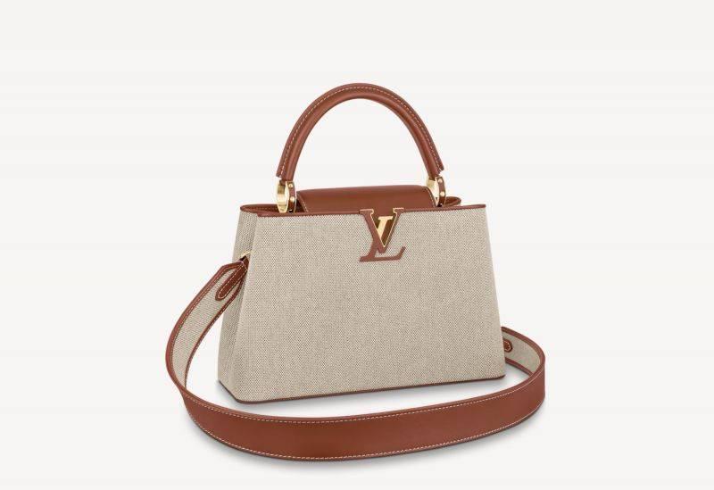 Louis Vuitton CAPUCINES MM HK$ 45,500(圖片來源:Louis Vuitton)