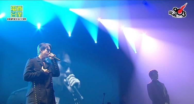 姜濤演唱MIRROR隊友多首歌曲。(圖片來源:商台903 facebook)