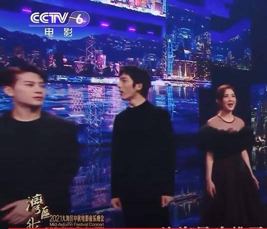 王嘉爾當晚經常嘴型和歌詞不配合。(圖片來源:YouTube截圖)