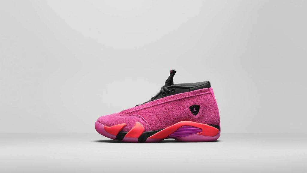 Air Jordan 14 Low Shocking Pink,11月4日發售,售價美金0,約港幣<img class=