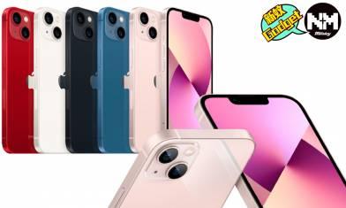 iPhone 13 價錢/顏色/規格懶人包:瀏海縮減20%+鏡頭升級配備創新拍攝功能
