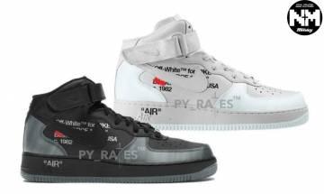 兩款最新Off-White x Nike Air Force 1 Mid曝光 「The Ten」系列可能再度回歸?