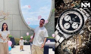 余文樂慶40歲生日與佳士得聯手 拍賣估價逾1200萬極罕古董Rolex Daytona 助病童實現願望