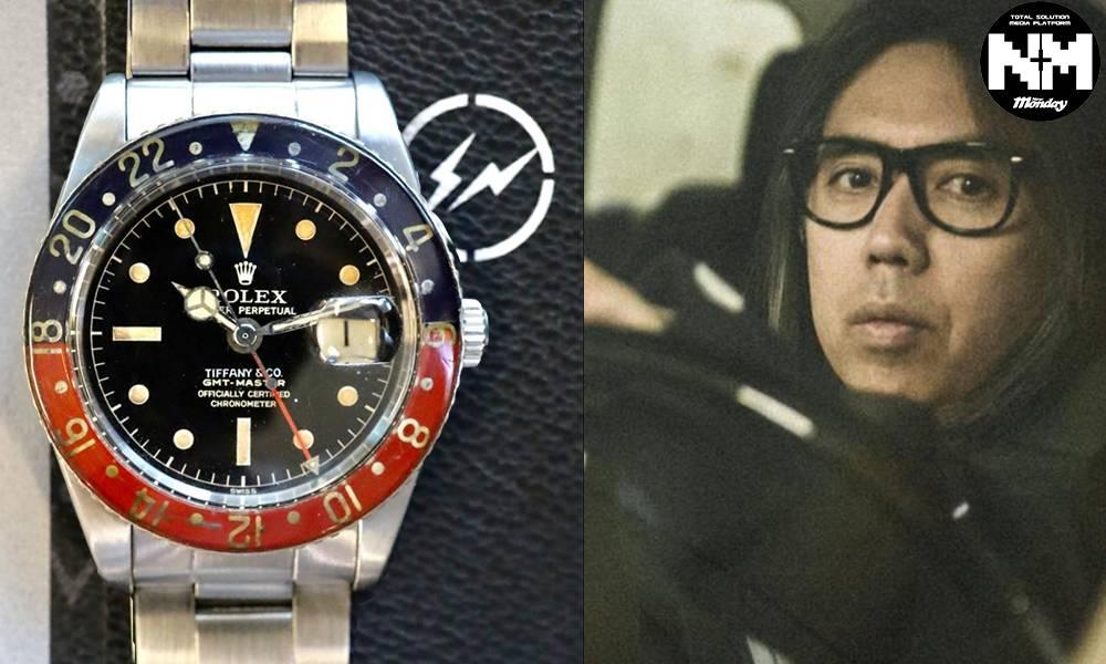 錶迷注意! 藤原浩珍藏3款極罕腕錶本月拍賣 同場加映「結他之神」腕錶