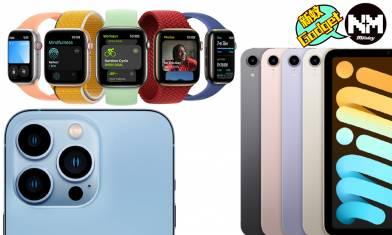 Apple發佈會2021懶人包 iPad mini 6/iPhone 13各型號價錢/規格/幾時有?