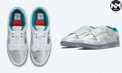 Nike Dunk Low Ice首度曝光 灰白色毛絨鞋面 玩味十足呈現冬日冰雪祭